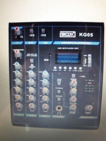 Mesa de som 5 canais BOX KG05