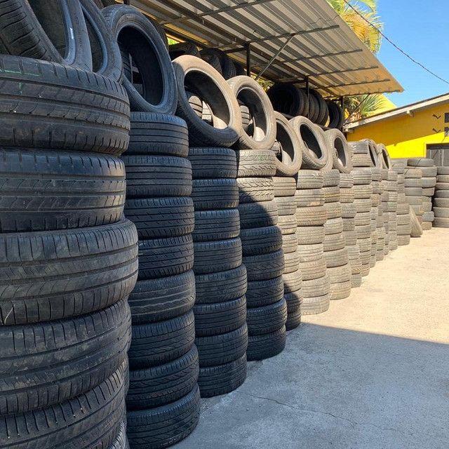 ?pneus semi novos 245/35-20 - Foto 16