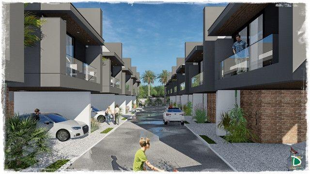 Projeto Inovador Sobrado Condomínio Fechado Carandá Bosque I com 3 Suítes - Foto 7