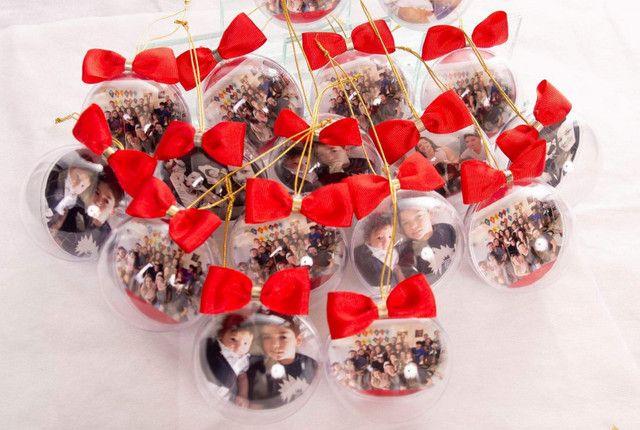 Bolinhas de Natal com foto - Foto 2