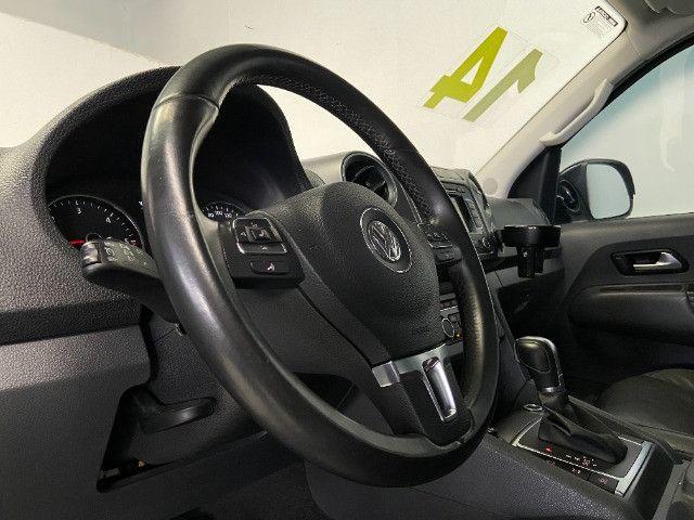 Volkswagen Amarok Highline 2.0 16V TDI 4x4 Dies. Aut 2014 - Unico dono - Revisada - Foto 13