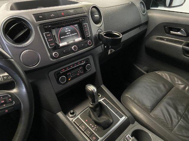 Volkswagen Amarok Highline 2.0 16V TDI 4x4 Dies. Aut 2014 - Unico dono - Revisada - Foto 16
