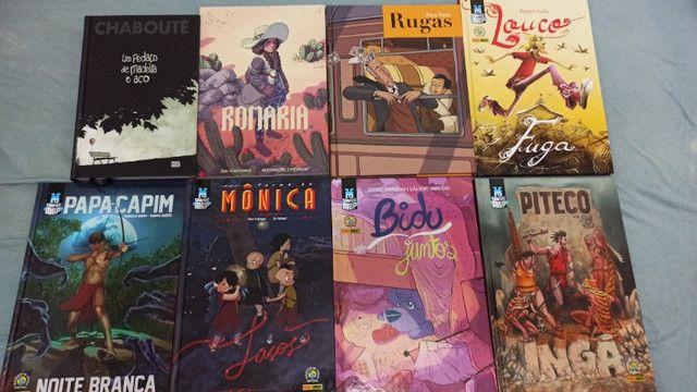 Quadrinhos e livros diversos - Foto 3