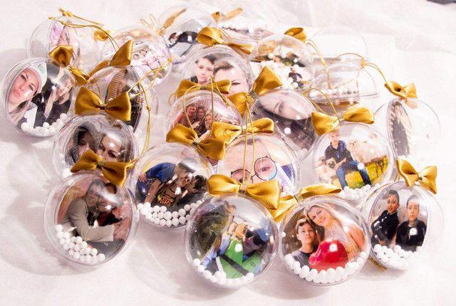 Bolinhas de Natal com foto