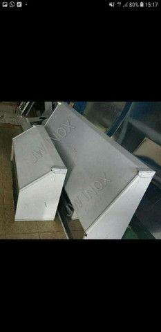 Coifa Em Aço inox Em promoção Aceitamos cartão  - Foto 4