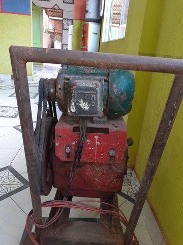 Lavadora de alta pressão motor com mangueira  - Foto 3