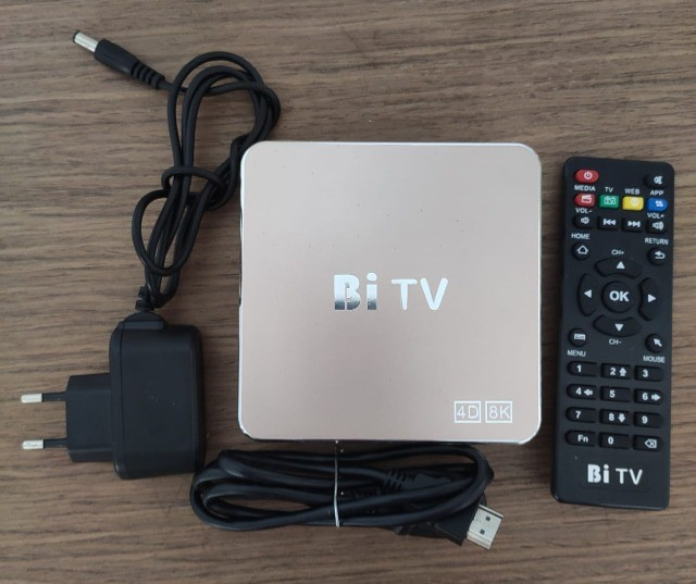 Vendo TV Box Bi TV