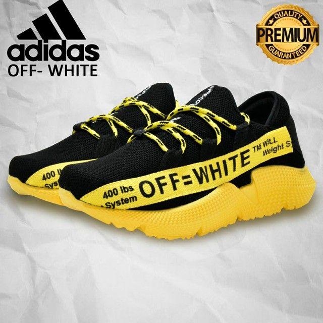 Tênis Adidas Off White - Masculino - Crossfit, Caminhada Numerçao do 38 ao 43
