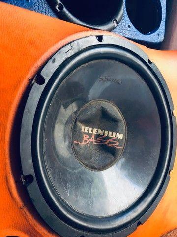 Caixa de som Selenium Bass e Corneta - Foto 2