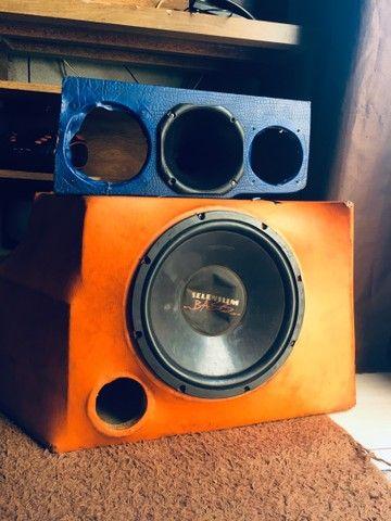 Caixa de som Selenium Bass e Corneta - Foto 3