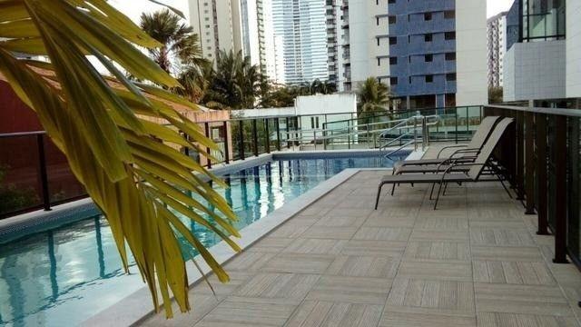 JS- Lindo apartamento de 2 quartos (58m²) - Edf. Green Life Boa Viagem - Foto 9