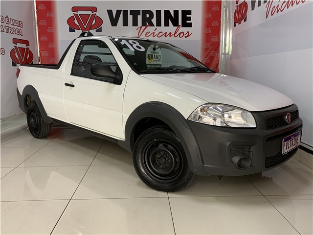 Fiat Strada 2018 1.4 mpi hard working cs 8v flex 2p manual