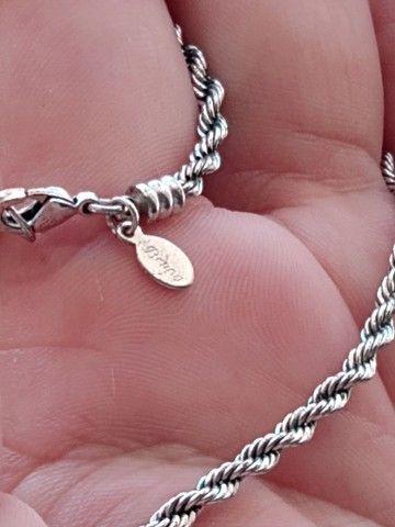 Cortao de prata Bruna - Foto 2