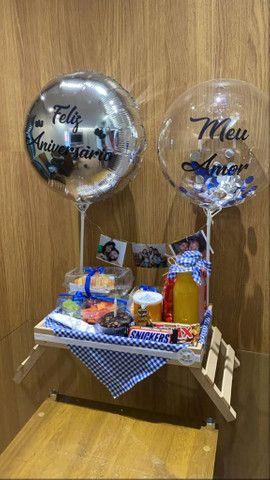 Cestas e Balões  Personalizados