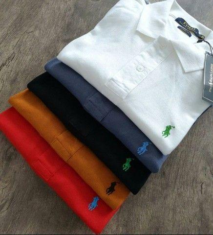 Camisas Polo Importadas Masculinas - Foto 2