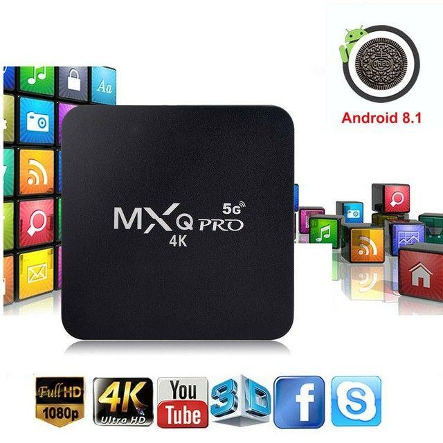 Tv Box MXQ PRO 4k Produto Importado Tv Smart Mais Barata do Brasil Frete Grátis  - Foto 4
