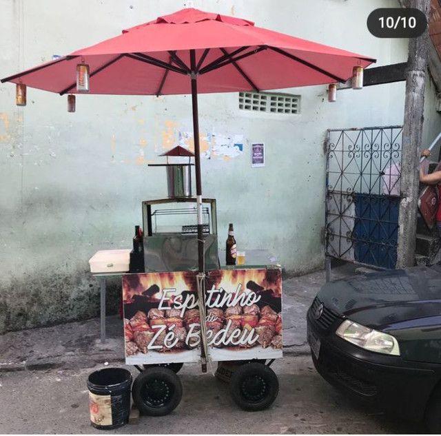 Carro de churrasco - Foto 6