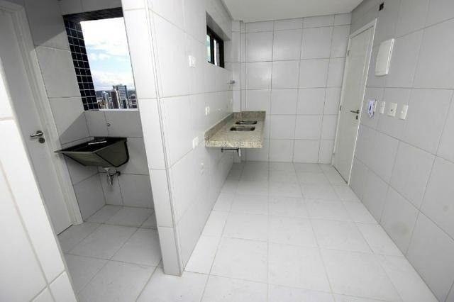 JS- Excelente apartamento de 03 quartos em Boa Viagem -97m² - Edf. Salamanca - Foto 11