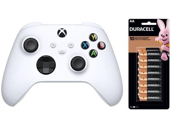 Controle Sem Fio Microsoft Robot White 1914 para Xbox S e X - Branco - Foto 2