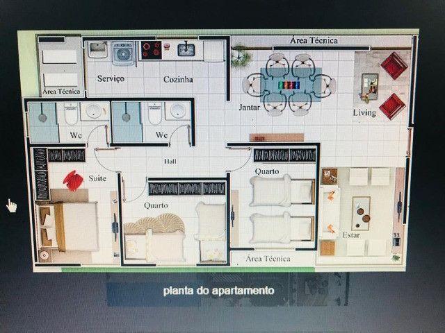 Apartamento novo 03 quartos sendo 01 suite  - Foto 3