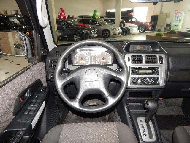 Mitsubishi Pajero TR4 2.0 4x4 140cv Flex 4p Automática Top De Linha Pneus Novos Baixa KM  - Foto 9