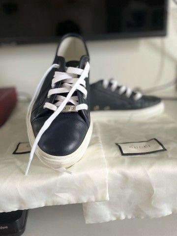 Sapato Gucci original com bag - Foto 2