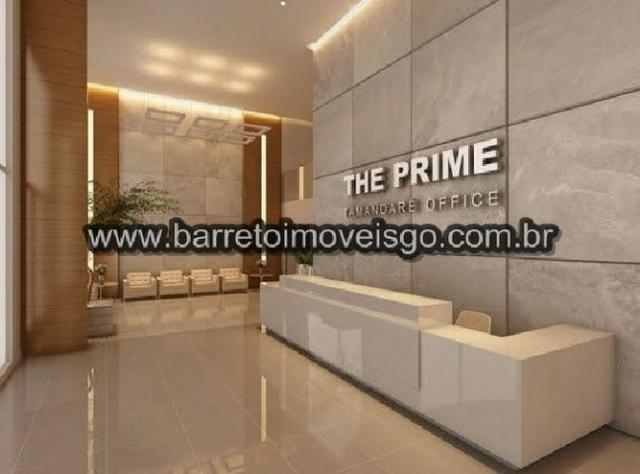 Sala Comercial 36m² - Ed. The Prime Tamandare Office - Setor Oeste