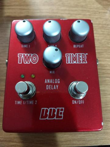 Pedal Delay Analogico BBE Two Time Delay