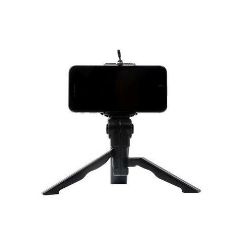 Mini Tripé Monopod Tripod Selfie Flexi Pod Câmera Adaptador Celular Smartphone - Foto 3