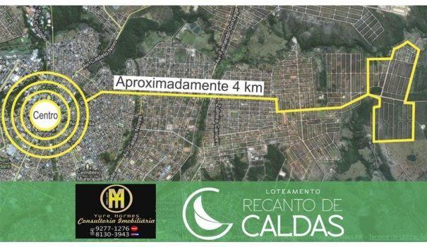 Os melhores lotes parcelados da cidade Caldas Novas - Sítio a Venda no bairro Me...