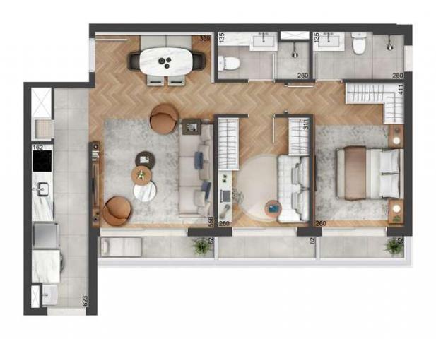 Float residences - 43 a 99m² - bairro petrópolis - porto alegre, rs - id2182 - Foto 20