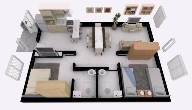 Aluga-se Casa 2/4 no Condomínio Alto da Bela Vista. Mossoró-RN - Foto 2