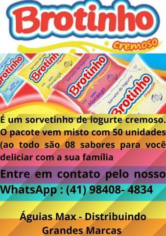 Sorvetes Brotinho, Pacote Misto Com 50unds