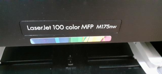 Multifuncional HP LaserJet Pro 100 Color M175NW - Foto 3