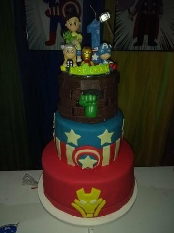 Doces e bolos personalizados