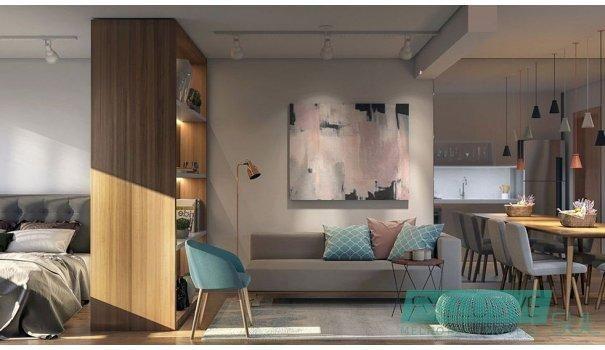 Flow residencial no Parque Una.  Unidade studio com 34 m² em edifício moderno. - Foto 7