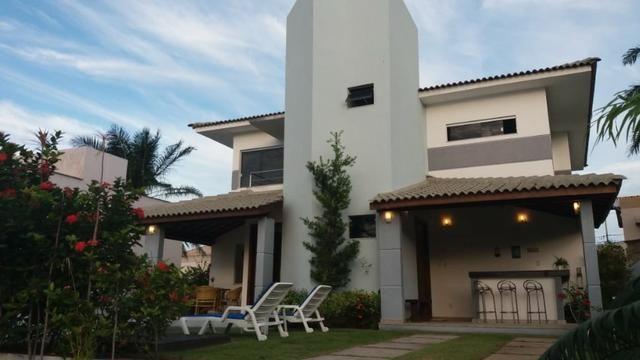 Casa de 3 suites com closet Piscina Privativa no Alphaville Litoral Norte 1 R$ 920.000,00