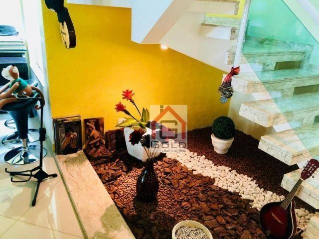 Sobrado com 3 dormitórios à venda, 195 m² por R$ 850.000 - Parque das Nações - Santo André - Foto 9