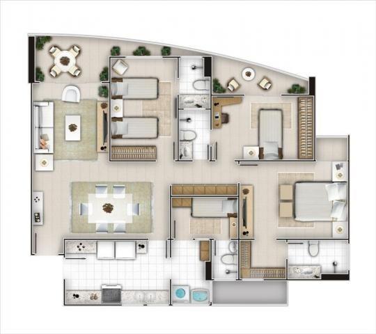 Apartamento 3 quarto(s) - Cocó - Foto 2