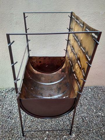 Churrasco de Natal e Ano novo com Churrasqueira tambor 200 litros - Foto 5
