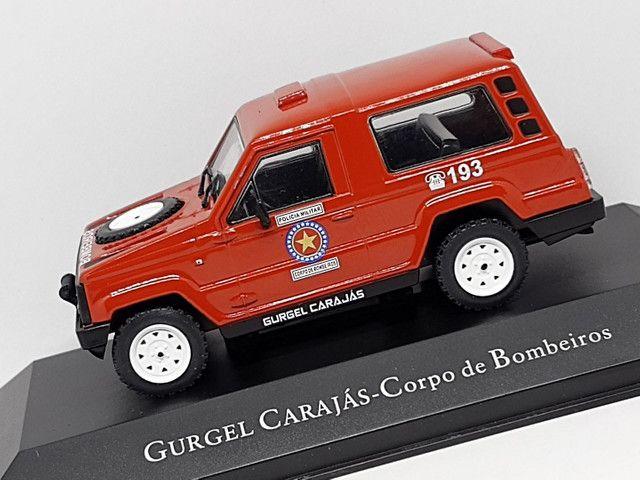 Miniatura Gurgel carajás corpo de bombeiros - Foto 2