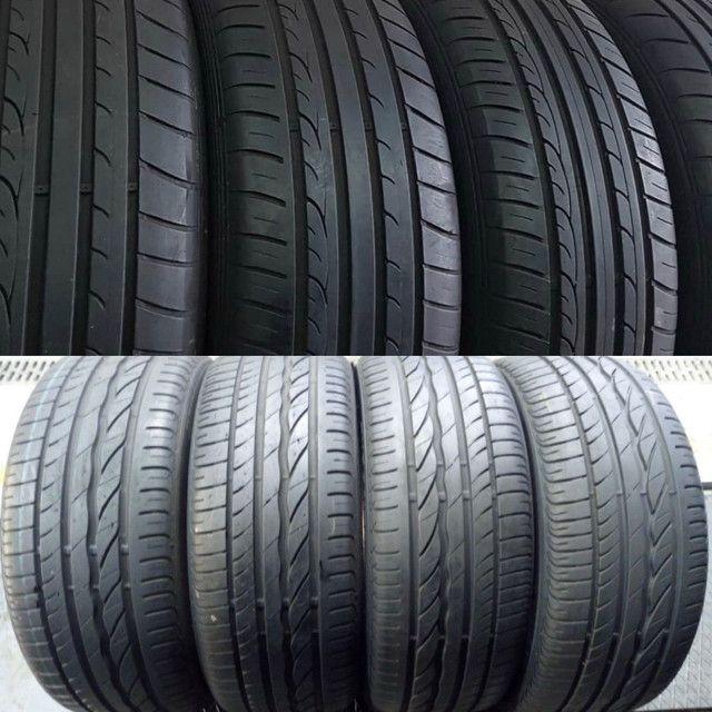 ?pneus semi novos 245/35-20 - Foto 6