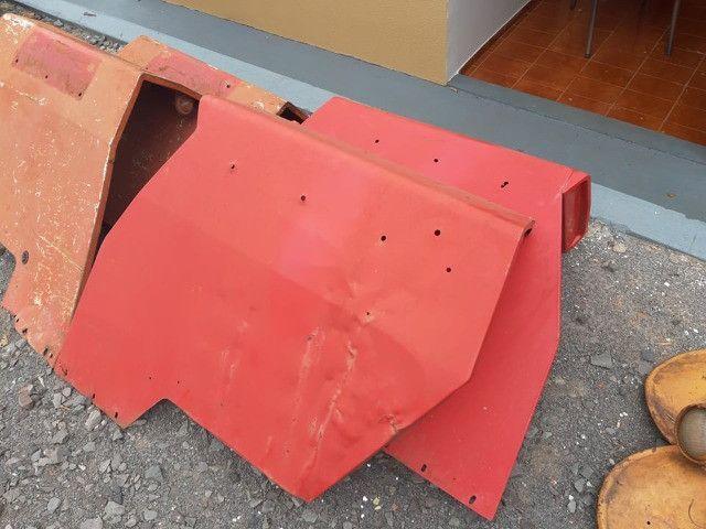 Paralamas do trator Massey fergurson - Foto 6