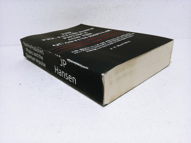 Livro The Pre-established Physics And The Quantum Impulse J. P. Hansen - Foto 2
