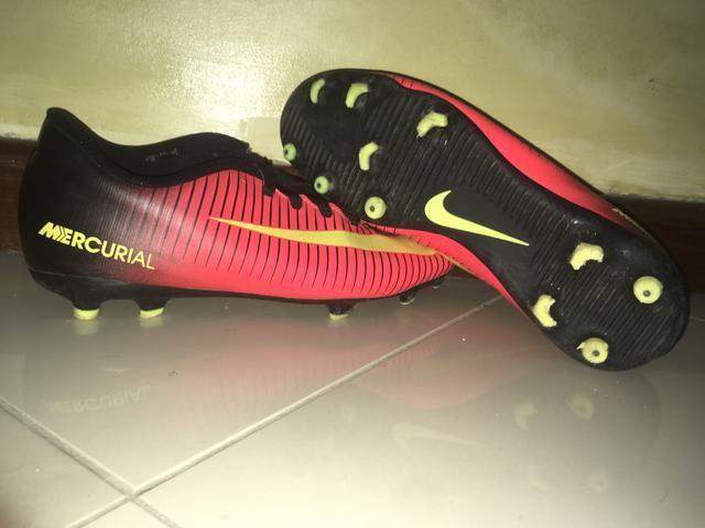 Chuteira Nike Mercurial Vortex III FG
