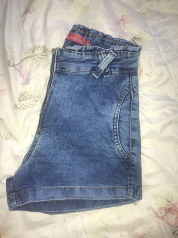 Calção jeans NOVO tm 40 - Foto 4