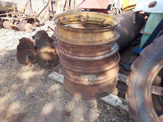 Rodas de pneus finos - Foto 3