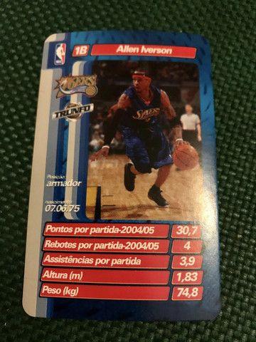 Super Trunfo Licenciado NBA Jogadores Anos 2000 Completo Estado de Novo - Muito raro - Foto 4