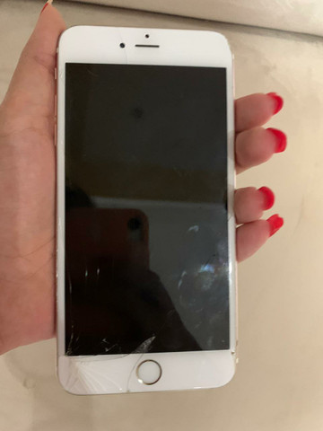 IPhone 6S Plus 128GB trincado - Foto 3