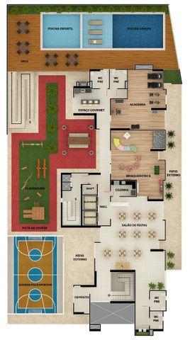 Apartamento com 2 e 3 Quartos no Bairro dos Estados - Elevador e Área de Lazer - Foto 13